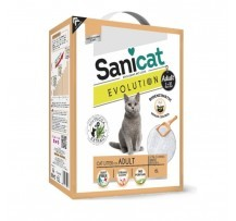 Sanicat Lettiera Igienica Ultra Agglomerante Evolution Adult 6 Litri