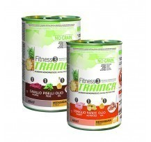 Trainer Fitness3 No Grain Senza Cereali Adult Medium&maxi 400 Gr Per Cani Adulti Di Media E Grande Taglia