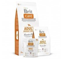 Brit Care Adult Medium Breed Lamb & Rice Per Cani Adulti Di Taglia Media