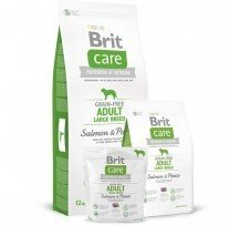 Brit Care Grain-free Adult Large Breed Salmon & Potato Cani Adulti Di Taglia Grande