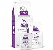 Brit Care Grain-free Giant Salmon & Potato Cani Adulti Di Taglia Grande