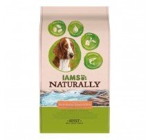 Iams Naturally Dog Salmone Nord Atlantico E Riso Per Cani Adulti