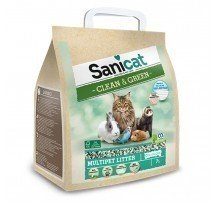 Sanicat Naturale Clean&green Cellulose Lettiera Ecologica 7 Litri