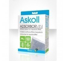 Askoll Adsorbor Mini Carbone Attivo Per Acquari 45gr
