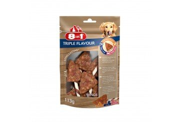 Tetra 8in1 Triple Flavour Wings 113 Gr Snack Ali Per Cane