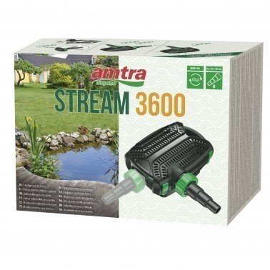 AMTRA POND STREAM 3600 POMPA PER LAGHETTO 3600 LT/H 20WATT